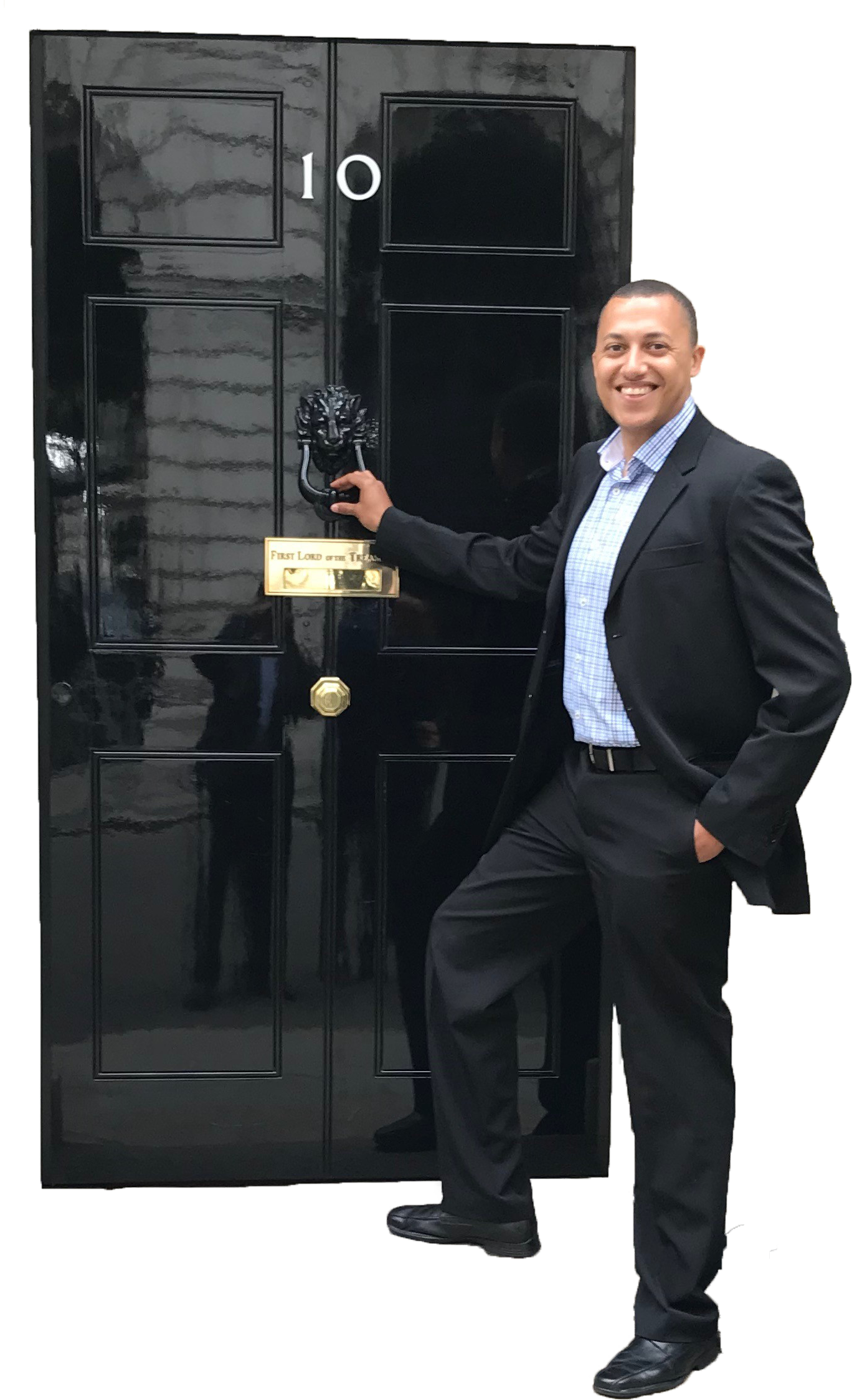 Aaron Henriques at Downing Street 2