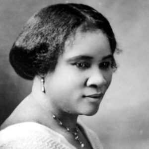 Madame CJ Walker is an American Entrepreneur and the first female self-made millionaire on the planet.